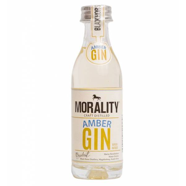 Morality Amber Gin 50ml
